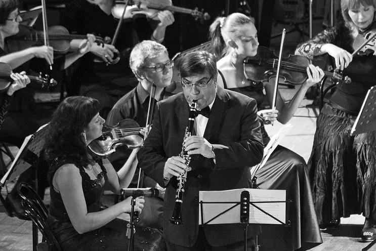 BRUNO DI GIROLAMO Klarinette und vier Streicher