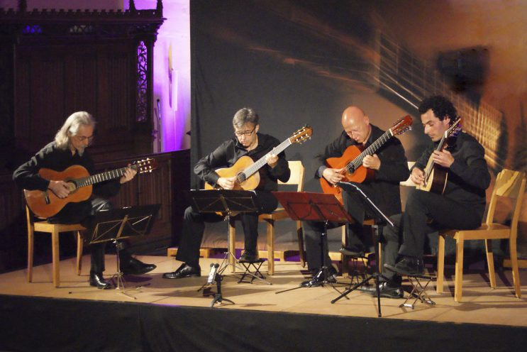 SAITENSPIEL: Aïghetta-Gitarrenquartett  + Stuttgarter Harfenquartett