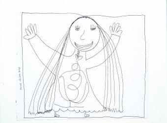 MAMA Kinderzeichnungen in der Fuge